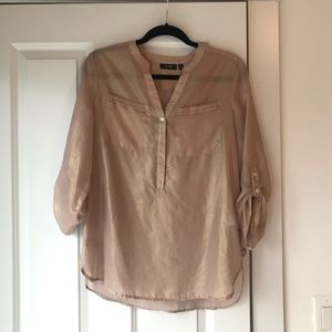 Rose Gold Apt 9 Blouse